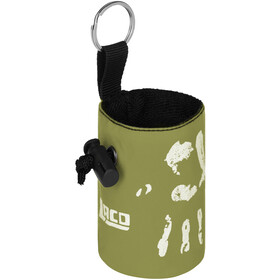 LACD Hand of Fate Chalk Bag with Belt, verde